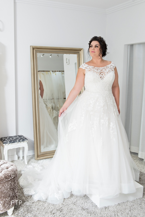 0fce6836bb0 Plus Size wedding dress styled by a seamstress