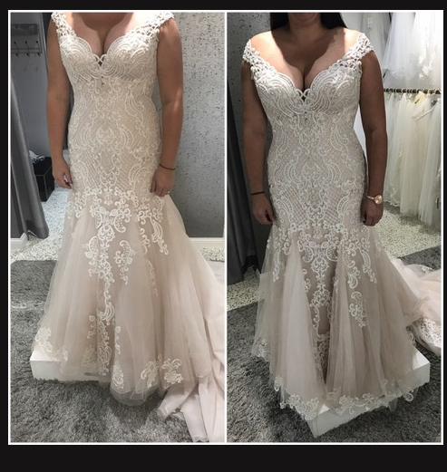Alteration of the Week curvy bride