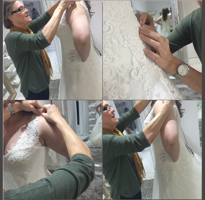 Alterations done by Brides Mother