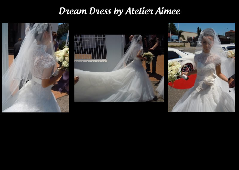 Atelier Aimee Italian designers made by brides dream dress come true.