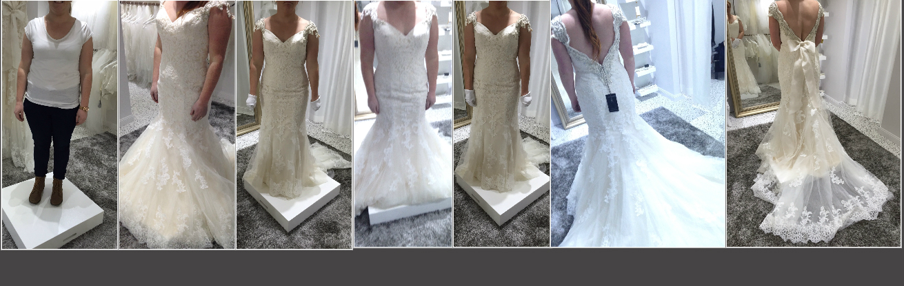 Bridal alterations to elongate your height