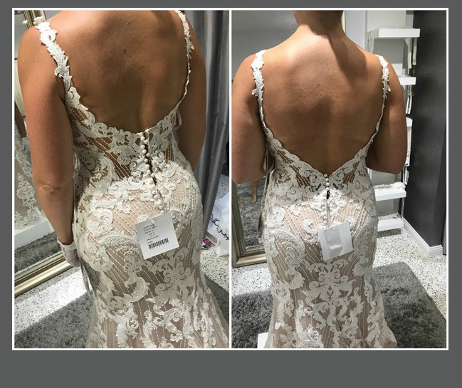 Dress Martina Liana 931 Alterations