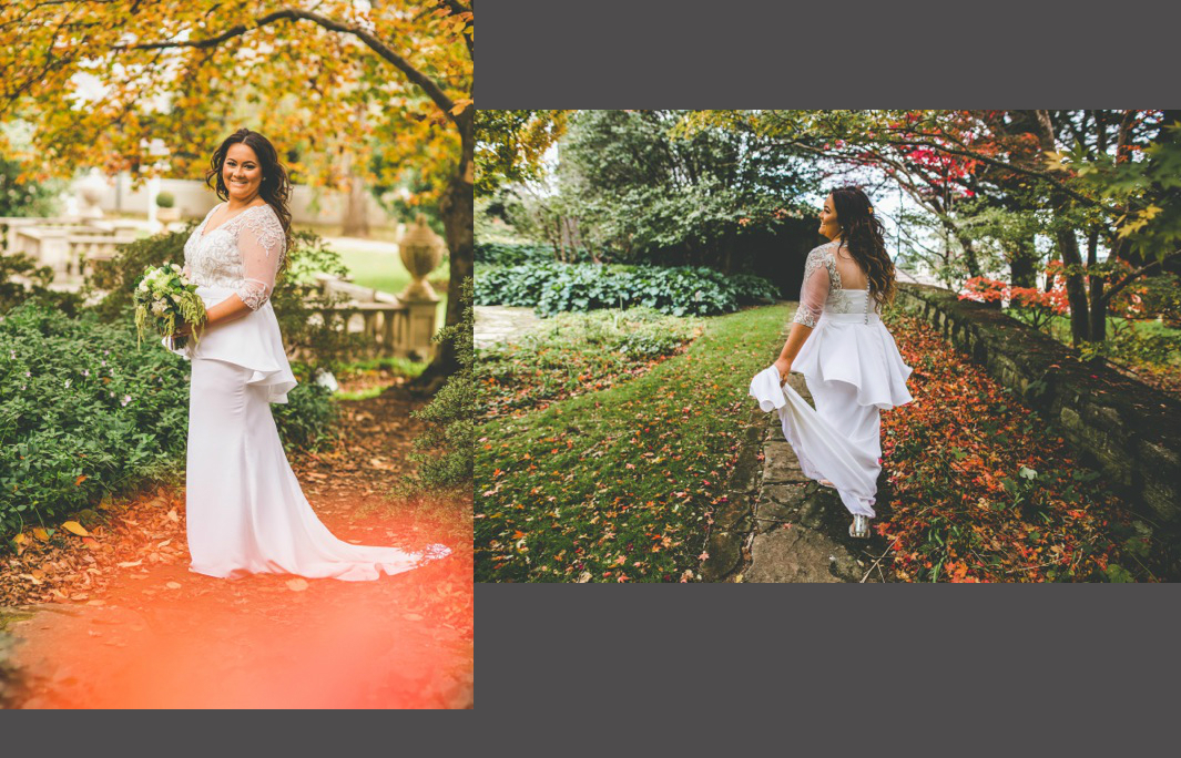 Plus Size Bride Made to measure Bridal Gown