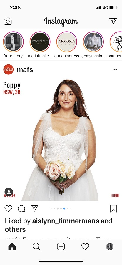 Poppy Married at first sight